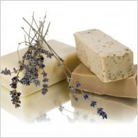 olivové ručně vyráběné mýdlo
